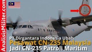 Hebat! PT Dirgantara Indonesia Akan Ubah Pesawat CN-235 Malaysia Jadi Pesawat Patroli Maritim