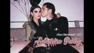Andy Biersack's 27th Surprise Birthday Party