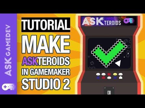 GameMaker Studio 2 Tutorial - Make Asteroids!