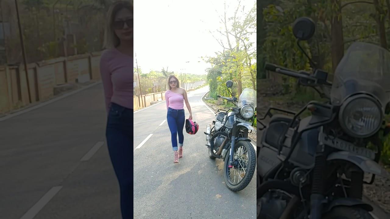 Onen Nenty |Nagabikerlady| Bikerlady Nagaland.