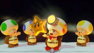 Captain Toad: Treasure Tracker 100% Walkthrough Part 17 - Toad Brigade, Move Out!