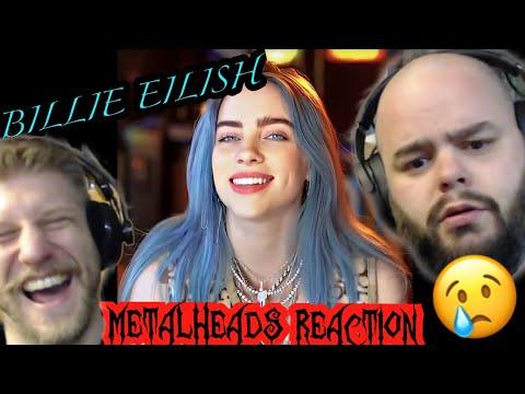 METALHEADS REACTION - BILLIE EILISH - EVERYTHING I WANTED