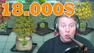 18.000$ mit Gras verdienen!   Weedcraft inc.