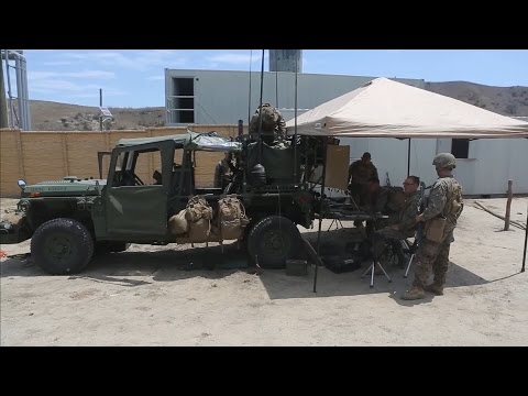 Marines Test Internally Transported Vehicles
