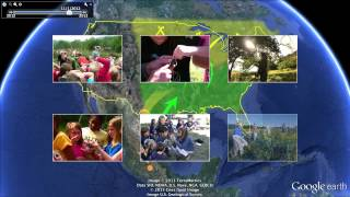 Monarch Butterfly Migration Google Earth Tour