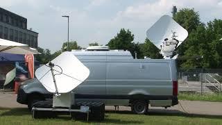 ND SATCOM SKYRAY Compact antenna system