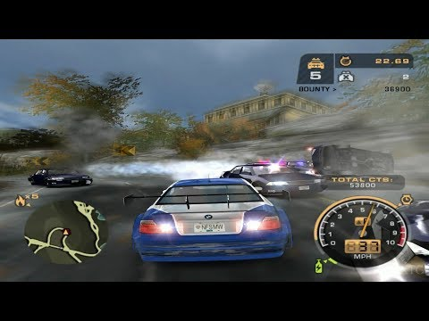 Need for Speed: Most Wanted Demo PS2 Gameplay HD (OPS2M Demo 65)