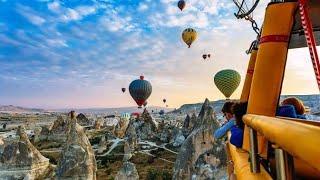 Kapadokya balon turu 1.bölüm cappadocia air ballons part 1  göreme
