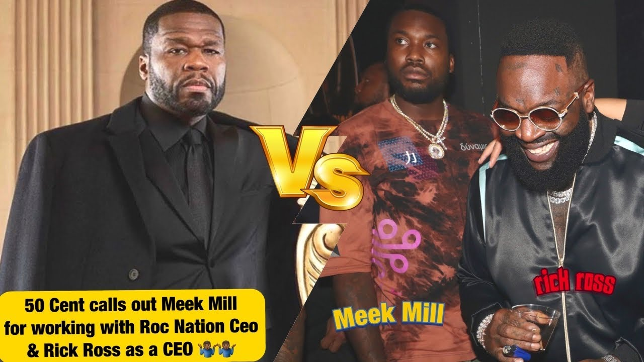 50 Cent Calls Out Meek Mill For Working With A Snitch & Rick Ross Being A Correctional Officer