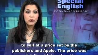 Anh ngữ đặc biệt: Apple / Publishers / E-Books (VOA)