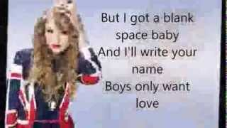 Taylor Swift - Blank Space (Official Lyrics Video) HQ DOWNLOAD