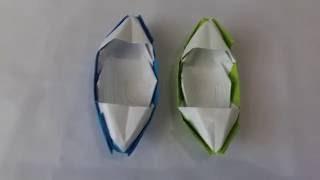 Origami For Kids -  Origami Boat | Cara Membuat Origami Mainan Anak Perahu Boat