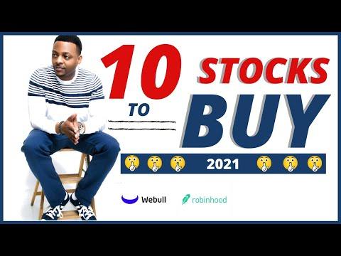 10 STOCKS TO BUY 2021???