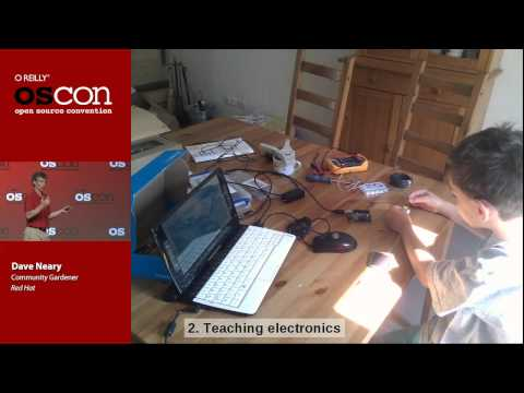 Hardware Hacking With Your Kids - Dave Neary (OSCON 2013)