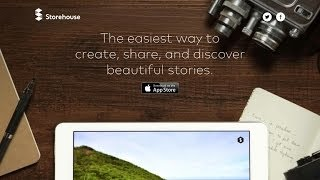 Storehouse: iPad-App fürs Storytelling mit Fotos, Videos und Texten