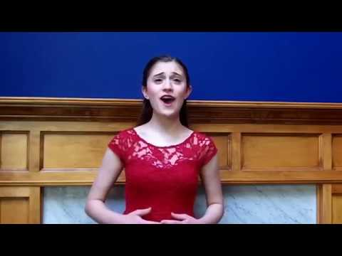"""""""Maybe This Time"""" (Audition Cut) - Cabaret - Michaela Catapano"""