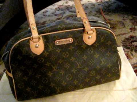 4d08dd9f628b Handbag Review  Louis Vuitton Montorgueil GM - YouTube