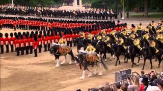 Trooping the Colour 2014 HD - Part 3/4