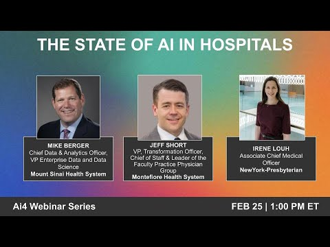The State of AI in Hospitals