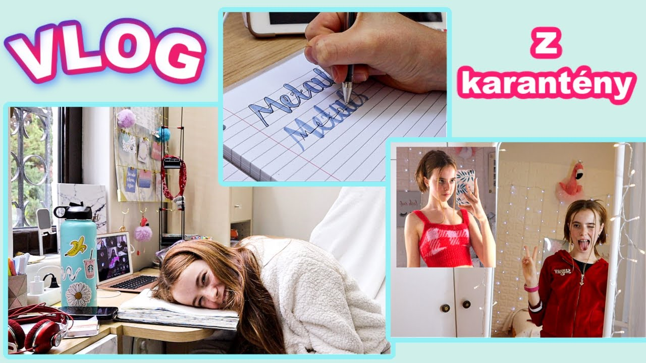 Co se stalo při on-line škole, návod jak si psát školní poznámky a jak si vytvořit trendy účes