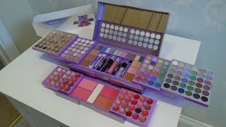 Claire's Purple Mega Make Up Cosmetic Set