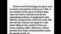 English : Advances in Science And Technology