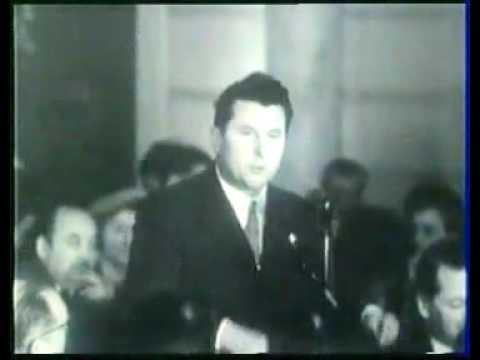 Pierre Poujade contre le juif Mendès France