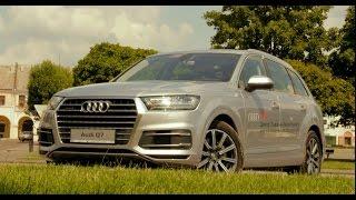 Тест-драйв нового Audi Q7