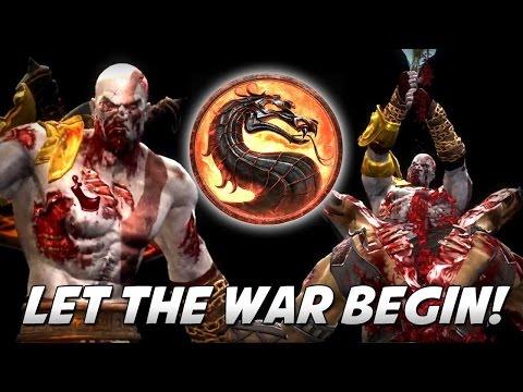 Mortal Kombat 9 - LET THE WAR BEGIN! (Kratos)