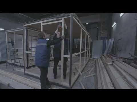Как построить своими руками строительный вагончик