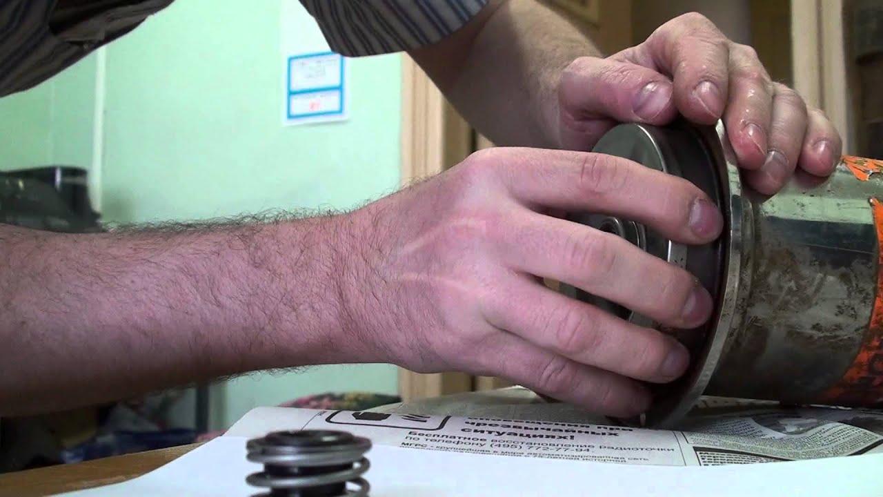 инструкция насоса джилекс замена уплотнения