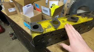 Caterpillar D2 #5J1113 - Project Status, Cylinder Head Rebuilt & Efforts To Keep Things Going