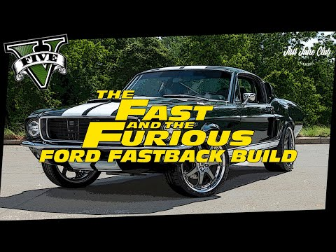 Fast & Furious Tokyo Drift Ford Mustang Fastback Movie Car Build Tutorial: GTA 5 (ELLIE)