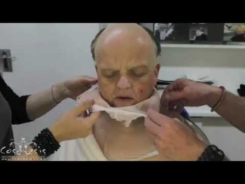 Becoming Alfred Hitchcock: Toby Jones's 4hour makeup process  timelapse video
