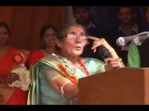 Narendra Modi's wife speech