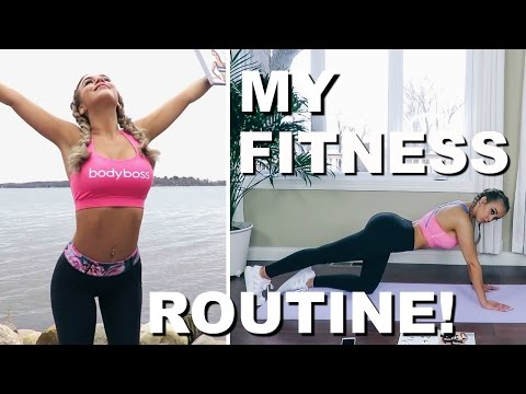 HIIT WORKOUT ROUTINE | Featuring BodyBoss 12 Week Fitness Guide
