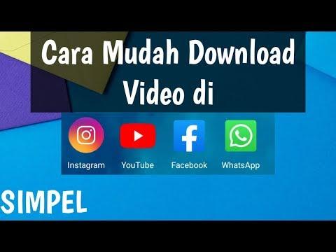 Cara Download Video Di Instagram Facebook Story Wa Youtube Di Android Vidmate