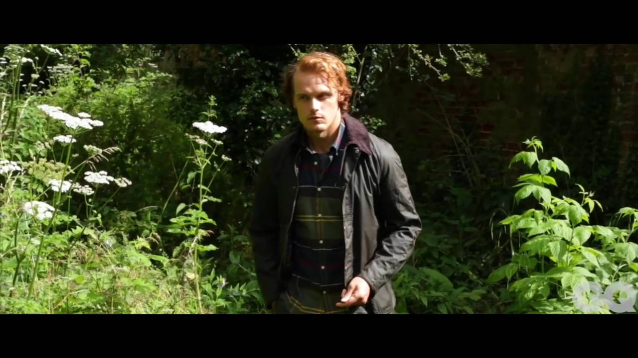 5a68cf7228d GQ Barbour Photo Shoot with Sam Heughan FOUR WAYS TO UP YOUR SHIRT GAME -  YouTube