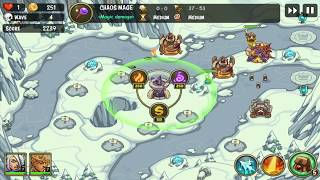 Empire Warriors TD: Defense Battle (Tower Defense)  (iOS/Android) | 60FPS | Gameplay Trailer