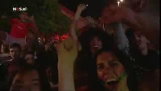 Fanzone Lissabon duizenden Portugezen vieren de 1 0   EK voetbal 2016   Frankrijk  NOS