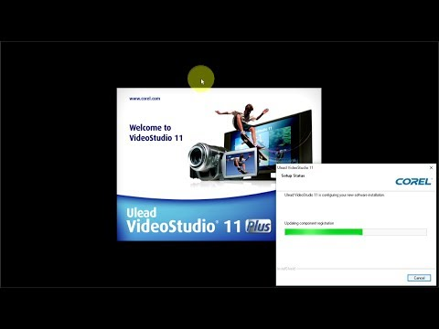 How to download and install Ulead Video Studio 11 Plus