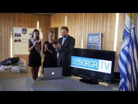 Inauguration de Seborga.TV / Apertura ufficiale di Seborga.TV / Official opening of Seborga.TV