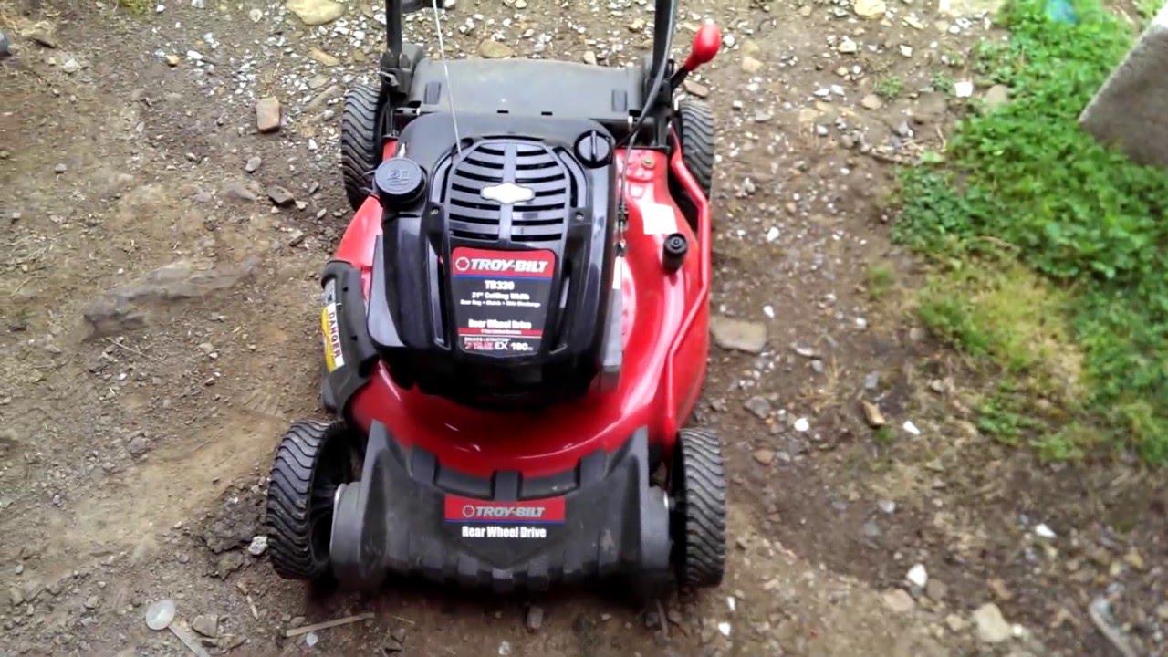 Review: Troy-Bilt push mower rear/ wheel drive