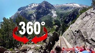 360° ride | Gelmerbahn | Europe