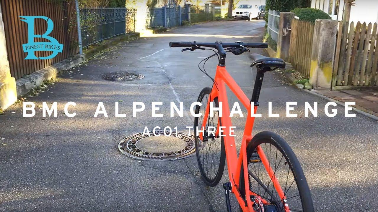 Bmc Alpenchallenge Ac01 Three 2018 Urban Bike Walkaround Youtube