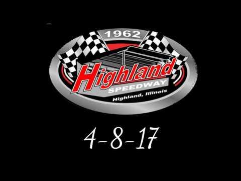 Highland Speedway 4-8-17