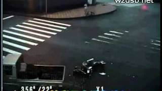 Man Survives Crash With Somersault (Must Be a Ninja)