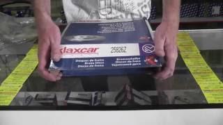 Тормозной диск Рено логан Дача Логан Renault Logan   KLAXCAR FRANCE 25826z