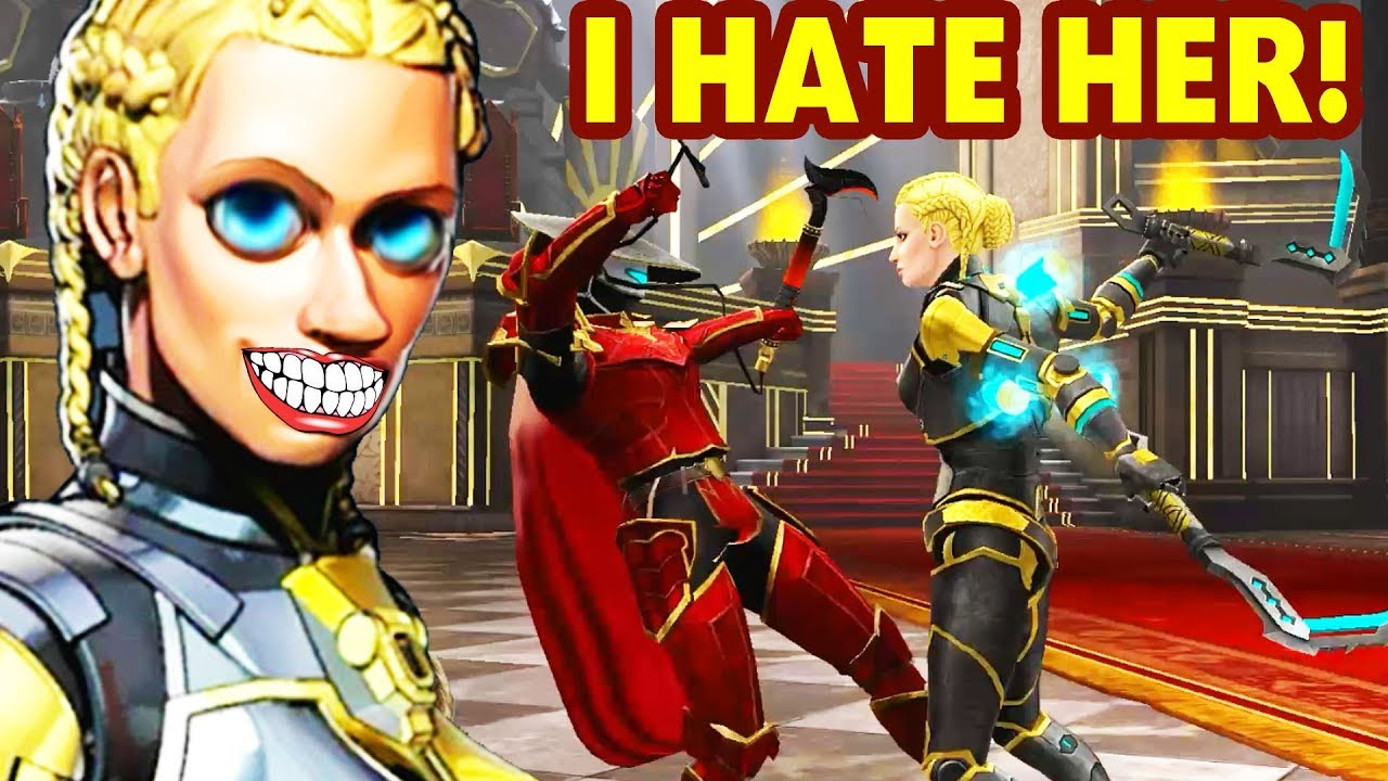 Download Shadow Fight 3. I RAGE SO MUCH! Trying to Defeat Queen Iolanda on ULTRA IMPOSSIBLE!