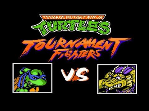 Teenage Mutant Ninja Turtles: Tournament Fighters NES, Черепашки - ниндзя: Турнир бойцов денди [136]